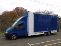 USED 2005 05 PEUGEOT BOXER 2.8HDI 4.5T 6X2 TRI AXLE LWB DISPLAY/EXHIBITION//MOBILE OFFICE SHOW VAN +DIRECT MOD+ CHOICE 3