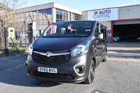 USED 2015 65 VAUXHALL VIVARO 1.6 COMBI CDTI START STOP 5d 125 BHP LWB L2H1 FWD 9 SEATER BI TURBO MANUAL MINIBUS ONE OWNER FULL S/H LOW MILEAGE