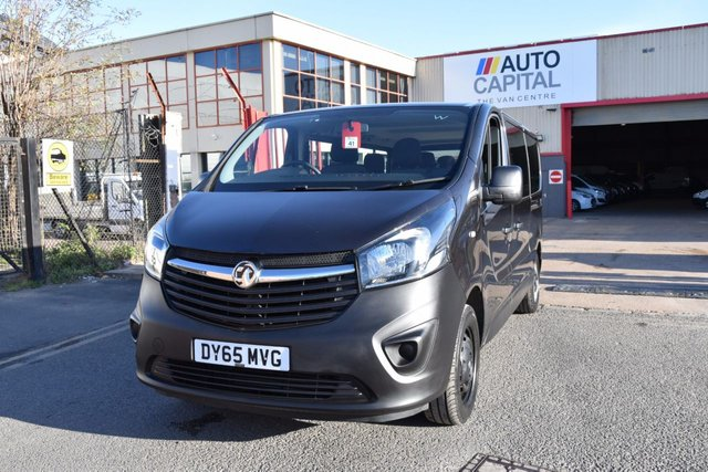 2015 65 VAUXHALL VIVARO 1.6 COMBI CDTI START STOP 5d 125 BHP LWB L2H1 FWD 9 SEATER BI TURBO MANUAL MINIBUS ONE OWNER FULL S/H LOW MILEAGE