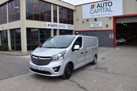 USED 2015 65 VAUXHALL VIVARO VIVARO 2900 SPORTIVE CDTI L2H1 LONG WHEELBASE LOW ROOF 5d 114 BHP FWD DIESEL MANUAL SIX GEARBOX ONLY ONE OWNER FROM NEW