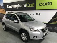 2010 VOLKSWAGEN TIGUAN S TDI BLUEMOTION TECHNOLOGY £6995.00