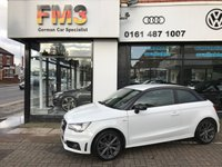 USED 2014 14 AUDI A1 1.2 TFSI S LINE STYLE EDITION 3d 85 BHP