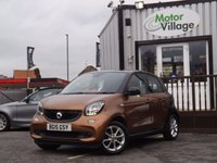 USED 2015 15 SMART FORFOUR 1.0 PASSION 5d 71 BHP SUPERB CONDITION, FULL SERVICE DONE ON SALE, COMPACT CAR WITH NICE SPEC