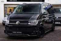 USED 2017 67 VOLKSWAGEN TRANSPORTER T6 2.0 TSI BMT 150ps HIGHLINE EU6 SWB PANEL VAN *** HUGE SPEC *** TSI *** LED HEADLAMPS *** SAT-NAV *** SPORT X PACK