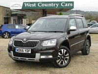 USED 2016 66 SKODA YETI 2.0 OUTDOOR LAURIN AND KLEMENT TDI DSG SCR 5d AUTO 148 BHP Very Practical Family Crossover
