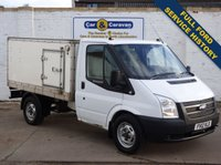 USED 2012 12 FORD TRANSIT 2.2 300 SRW 1d 99 BHP 1 Owner Fridge Freezer Fish Van
