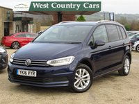 USED 2016 16 VOLKSWAGEN TOURAN 1.6 SE TDI BLUEMOTION TECHNOLOGY DSG 5d AUTO 109 BHP 1 Owner From New, Full VW History