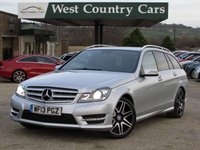 USED 2013 13 MERCEDES-BENZ C CLASS 2.1 C250 CDI BLUEEFFICIENCY AMG SPORT PLUS 5d AUTO 202 BHP Great Looking Diesel Estate