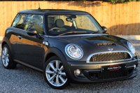 USED 2013 13 MINI HATCH COOPER 1.6 COOPER S 3d 184 BHP CHILI PACK. CARBON BLACK, PART EXCHANGE WELCOME.
