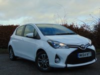 USED 2014 64 TOYOTA YARIS 1.3 VVT-I ICON 5d 12 MONTHS FREE AA MEMBERSHIP