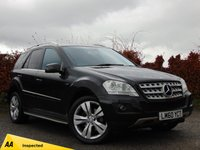 USED 2010 60 MERCEDES-BENZ M CLASS 3.0 ML350 CDI BLUEEFFICIENCY SPORT 5d AUTOMATIC * 128 POINT AA INSPECTED *