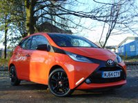 USED 2014 64 TOYOTA AYGO 1.0 VVT-I X-CITE 5d 69 BHP * 128 POINT AA INSPECTED *