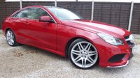 USED 2014 14 MERCEDES-BENZ E CLASS 2.1 E250 CDI AMG SPORT 2dr AUTO Incredible Specification, FMSH