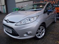 USED 2012 FORD FIESTA 1.4 ZETEC TDCI 5d 69 BHP Perfect First Car, No Deposit Necessary, Excellent Condition, Super Economical