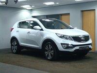 USED 2012 62 KIA SPORTAGE 1.7 CRDI 3 5d 114 BHP