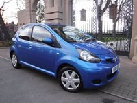 USED 2010 10 TOYOTA AYGO 1.0 BLUE VVT-I 5d 67 BHP ****FINANCE ARRANGED***PART EXCHANGE***AIR CON***BLUETOOTH***