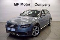 2010 AUDI A4 ALLROAD 2.0 ALLROAD TDI QUATTRO 5d 168 BHP £12295.00