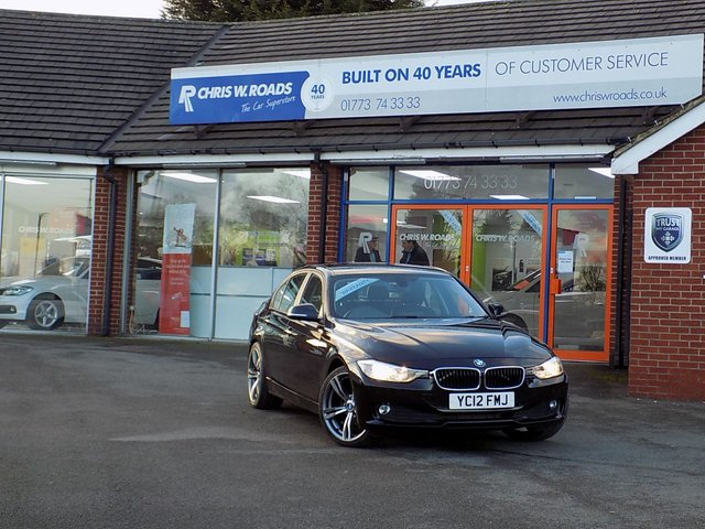 USED 2012 12 BMW 3 SERIES 2.0 320D EFFICIENTDYNAMICS 4dr *M Sport Alloys & Huge Spec * ** Leather + Pro Nav + Upgrade Alloys **