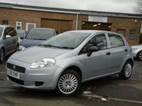 USED 2007 S FIAT GRANDE PUNTO 1.2 ACTIVE 8V 5d 65 BHP JUST 2 OWNER+CHEAP TO RUN + INSURE