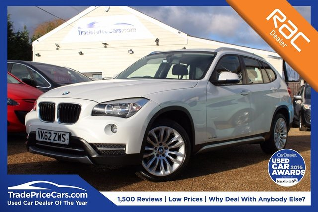 View our 2012 62 BMW X1 2.0 XDRIVE20D XLINE 5d 181 BHP