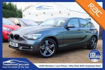 2014 BMW 1 SERIES 1.6 116I SPORT 5d 135 BHP £11500.00