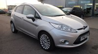 USED 2010 60 FORD FIESTA 1.4 TITANIUM TDCI 5d 69 BHP LOW DEPOSIT OR NO DEPOSIT FINANCE AVAILABLE.