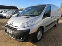 2014 TOYOTA PROACE L2H1 2.0 HDI 1200 130 BHP WITH REAR TAILGATE AIR CON £8495.00