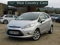 USED 2008 58 FORD FIESTA 1.4 ZETEC 16V 5d 96 BHP Fun To Drive City Car