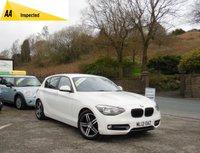 2012 BMW 1 SERIES 2.0 116D SPORT 5d AUTO 114 BHP £9990.00