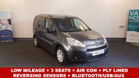 USED 2015 64 CITROEN BERLINGO 1.6HDi 625 Enterprise Air Con, Bluetooth, 3 Seats +Full Service History+ *Over The Phone Low Rate Finance Available*   *UK Delivery Can Also Be Arranged*           ___________       Call us on 01709 866668 or Send us a Text on 07462 824433