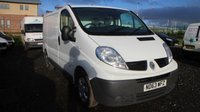 USED 2014 63 RENAULT TRAFIC 2.0 SL27 DCI S/R P/V 1d 115 BHP LOW DEPOSIT OR NO DEPOSIT FINANCE AVAILABLE.