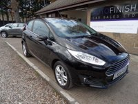 USED 2015 65 FORD FIESTA 1.2 ZETEC 3d 81 BHP 1 OWNER FROM NEW, 2 KEYS
