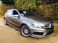 USED 2014 14 MERCEDES-BENZ A CLASS 1.8 A200 CDI BLUEEFFICIENCY AMG SPORT 5d 136 BHP AMG Line, Parking Sensors, FSH, Full Leather, Electric Wing Mirrors!