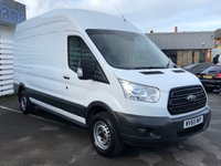 USED 2015 65 FORD TRANSIT 2.2 350 H/R P/V 1d L3H3 125 BHP 2015 (65) Plate