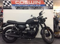USED 2017 17 TRIUMPH BONNEVILLE T100 BLACK TRIUMPH BONNEVILLE T100 BLACK ONE OWNER, ONLY 191 MILES!!!