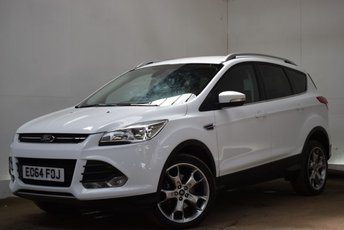 """2014 FORD KUGA 2.0 TITANIUM TDCI [4WD/19"""" ALLOYS] 5d 160 BHP £12290.00"""