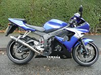 USED 2004 54 YAMAHA YZF  R6  Low Mileage, July 2018 MOT, Carbon Exhaust, Very Tidy