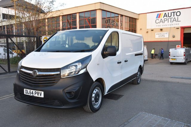2014 64 VAUXHALL VIVARO 1.6 2900 L2H1 CDTI P/V 5d 115 BHP LWB ECO FWD DIESEL PANEL MANUAL VAN ONE OWNER LOVELY DRIVE SPARE KEY