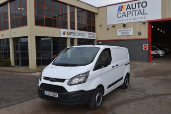 2015 FORD TRANSIT CUSTOM 2.2 290 LR P/V 5d 100 BHP SWB ECO-TECH FWD L1 DIESEL MANUAL PANEL VAN £8490.00