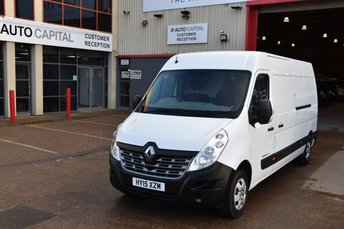 2015 RENAULT MASTER 2.3 LM35 BUSINESS PLUS DCI S/R P/V 5d 125 BHP LWB AIR CON DIESEL MANUAL VAN £10490.00