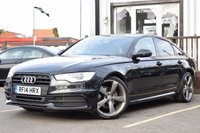 USED 2014 14 AUDI A6 2.0 TDI ULTRA S LINE BLACK EDITION 4d 188 BHP Full Audi Service History, Great looking A6, Superb amount of spec!