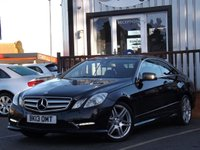2013 MERCEDES-BENZ E CLASS 2.1 E220 CDI BLUEEFFICIENCY SPORT 2d AUTO 170 BHP £12815.00