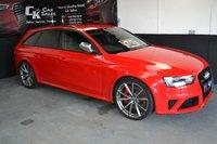 2014 AUDI RS4 AVANT 4.2 RS4 AVANT FSI QUATTRO 5d AUTO 444 BHP £35000.00