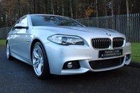 2013 BMW 5 SERIES 2.0 520D M SPORT 4d AUTO 181 BHP £16000.00