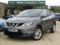 USED 2014 14 NISSAN QASHQAI 1.5 DCI ACENTA PREMIUM 5d 108 BHP Well Equipped New Shape Qashqai