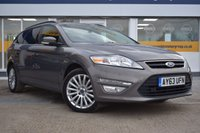 USED 2013 63 FORD MONDEO 2.0 ZETEC BUSINESS EDITION TDCI 5d AUTO 138 BHP THE CAR FINANCE SPECIALIST