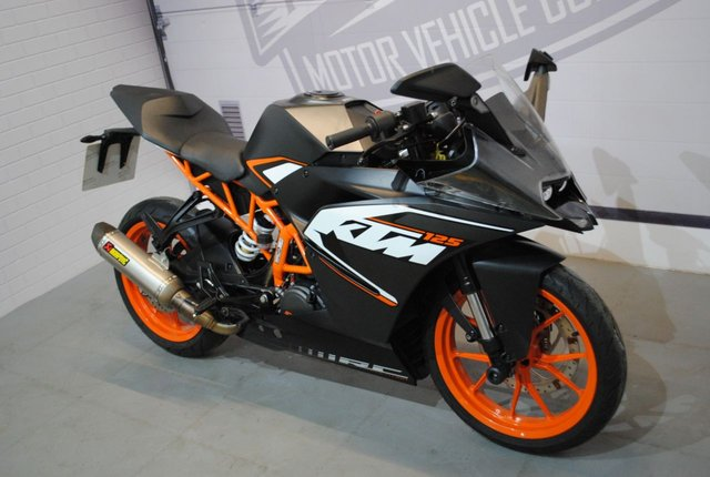 2016 16 KTM RC 125 125cc
