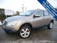 USED 2008 58 NISSAN QASHQAI 2.0 ACENTA 5d 140 BHP SAT NAV, BLUETOOTH, CRUISE CONTROL, RADIO/CD CHANGER