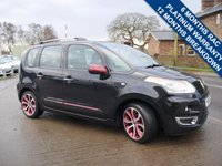 USED 2011 61 CITROEN C3 PICASSO 1.6 PICASSO BLACKCHERRY HDI 5d 90 BHP BLUETOOTH PHONE PREPARATION, CRUISE CONTROL + AIR CONDITIONING