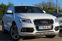 USED 2014 64 AUDI Q5 2.0 TDI QUATTRO S LINE PLUS S/S 5d 175 BHP SAT NAV, 20 INCH ALLOYS, HEATED SEATS, FULL LEATHER INTERIOR